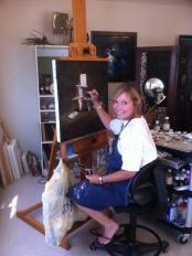 A. Eilene Carver, artseen studio tour