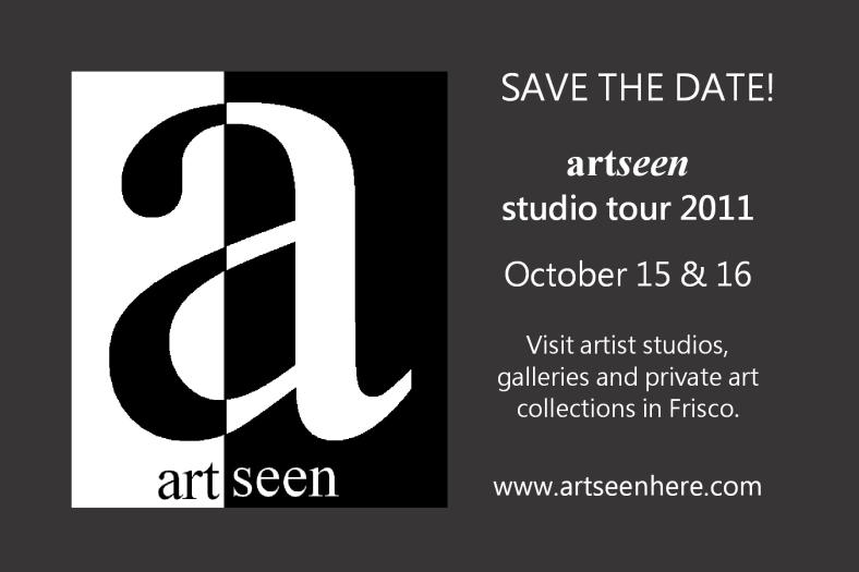 artseen studio tour, frisco, texas, art tour