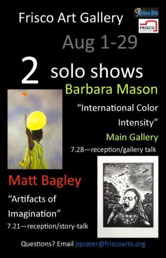 2 solo shows