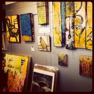 Misty Oliver-Foster's studio, 2013