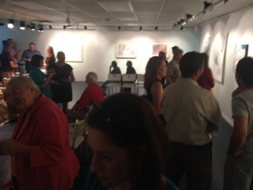 """Out of the Studio"" exhibit at thegallery8680"