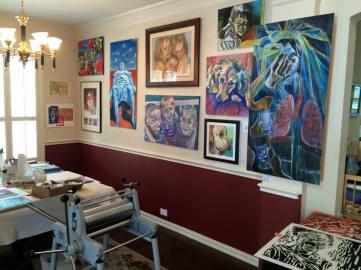 Linda Long's Studio 2015