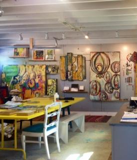 Misty Oliver-Foster's studio