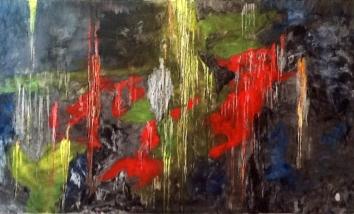 El Rio de Cinco Colores III by Edith Torres