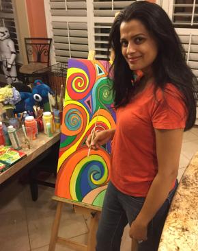 Artist Vidisha Bajpai